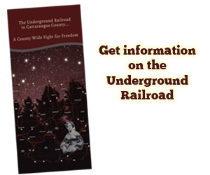 Get information on the Underground Railroad in Cattaraugus County
