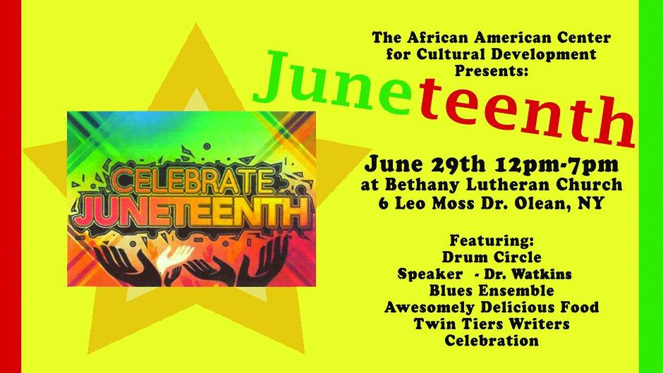 2019 Juneteenth Celebration in Olean NY