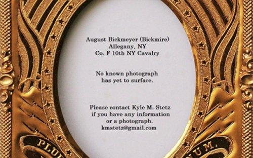 August Bickmeyer of Allegany, NY