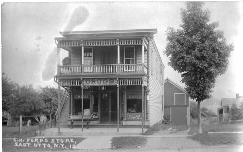 "The ""Drug"" Store in 1913"