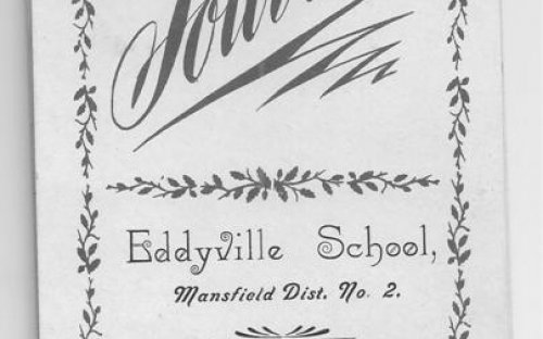 Front cover of School Souvenir  1903-04