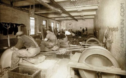 backaching work for those in the mills