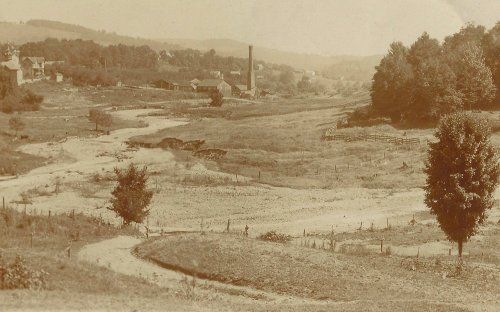 Monech Tannery and home circa 1895