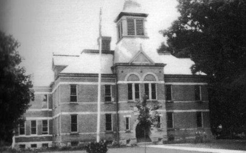 Former High School now known as The 1887 Building