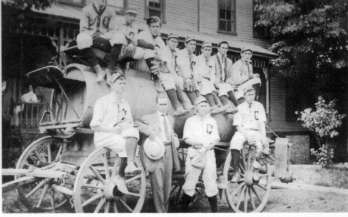 Baseball Team, Cattaraugus, NY