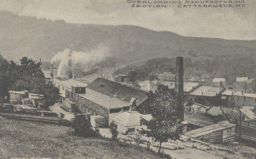 Factories, Cattaraugus, NY