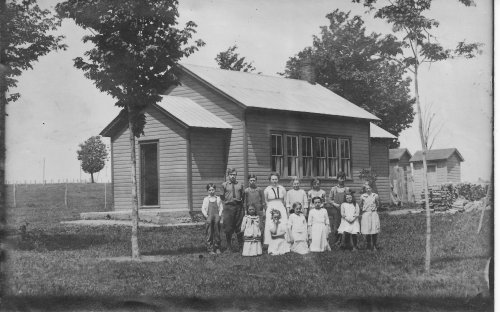 District 9 schoolhouse