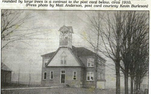 Post card photo of Great Valley School