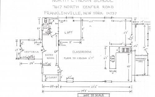 Lyndon School Layout Schematic