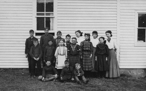 District 2 schoolhouse