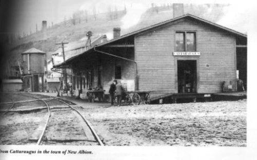 Railroad depot, Cattaraugus, NY