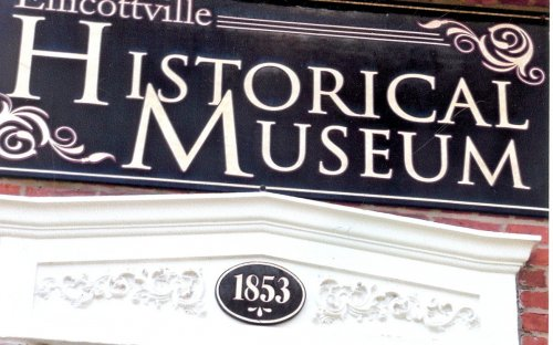 New plaque on the front of the Museum