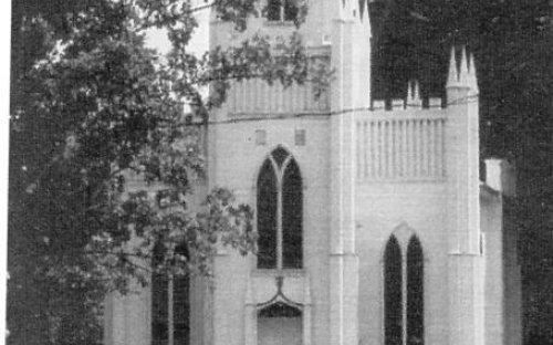 Current view of St. John's Episcopal Church