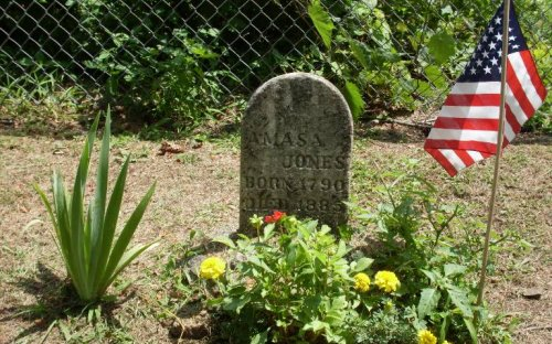 Amasa Jones Grave- buried twice!