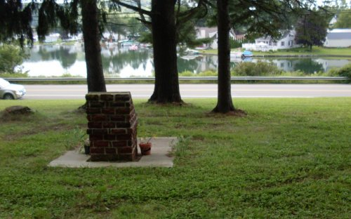 "Marker for the ""Cemetery"""