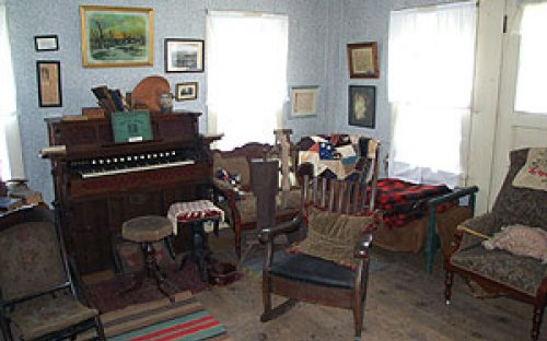 View inside the House