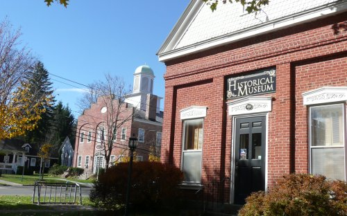 Town & Village Hall in Ellicottville (formerly the courthouse)