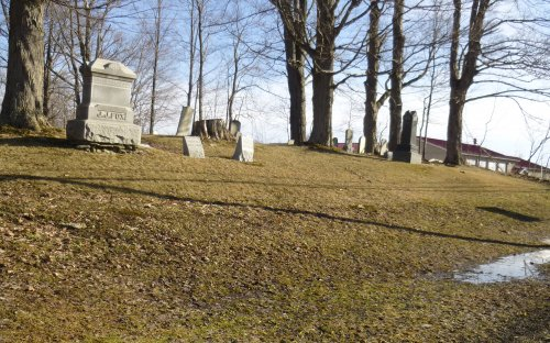 Image of the cemetery