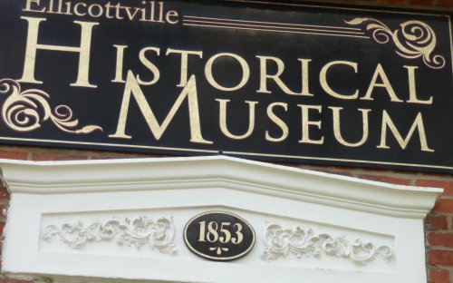 New sign on historical museum
