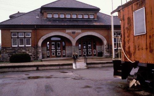 Salamanca Rail Museum in Salamanca, New York