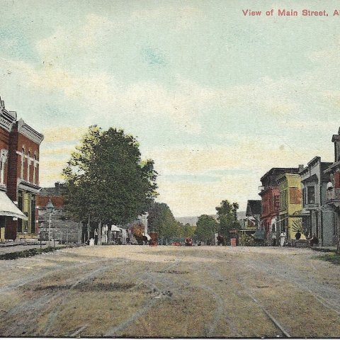 Allegany Main St. Historical Photo