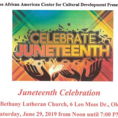 Juneteenth Celebration in Olean 2019