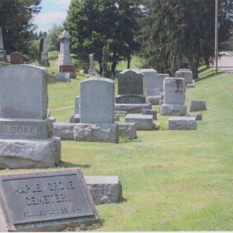 Maple Grove Cemetery in Machias 1