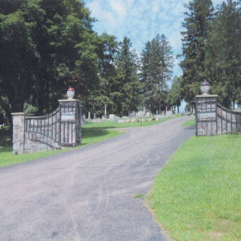 Mount Prospect Cemetery in Franklinville 1