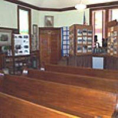 Inside Ashford Historical Society Museum