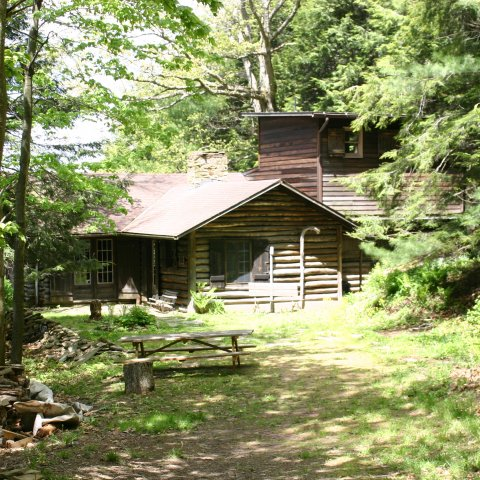 Pfeiffer-Wheeler American Chestnut Cabin. Taken in 2010