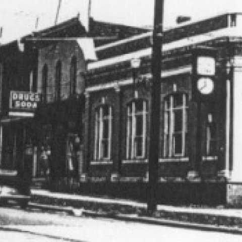 Old Picture of the Allegany Public Library