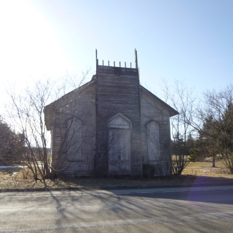 The former Church now abandoned