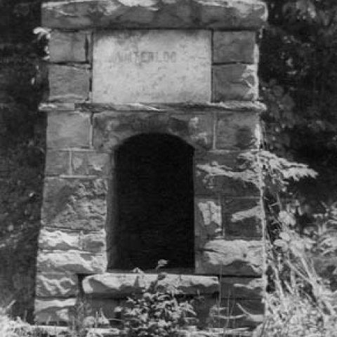 Nancy's Well AKA Waterloo Well. Photo from the Ellicottville Historical Museum