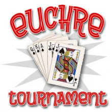 Euchre Tournament Flyer