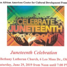 Juneteenth Celebration in Olean 2019