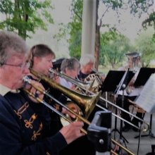 2019 Summer at the Stone House Bent Brass Ensemble