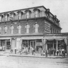 Picture of the Miller Block in Allegany, NY