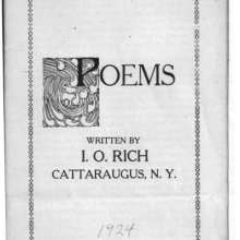Booklet of Poems
