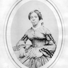 Sarah Johnson, ex-slave, midwife, resident of Olean, NY