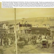 Roosevelt's visit to Village of Cattaraugus
