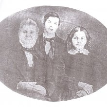 Merlin Mead with wife Polly and son Eddie