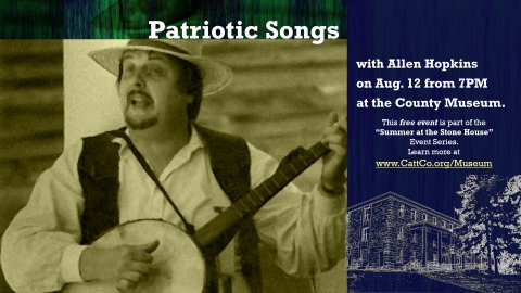 Performance of Patriotic Songs with Allen Hopkins