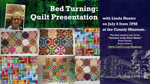 Bed Turning (Quilt Presentation) on July 8, 2021